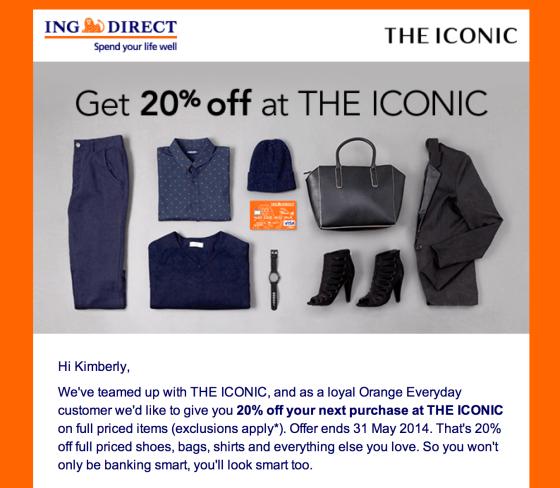 ING direct promo